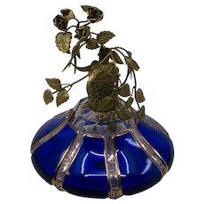 IRICE French Cobalt Perfume Bottle