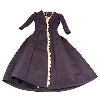 Doll Dress for Antique French or German Fashion Doll