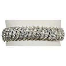 Ciner Rhinestone Bracelet