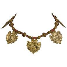 Vintage Kenneth Lane Egyptian Revival Statement Necklace