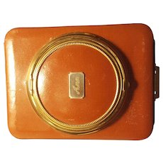 Very Cool Lin-Bren Novelty Camera Shaped Compact Cigarette Case Combo