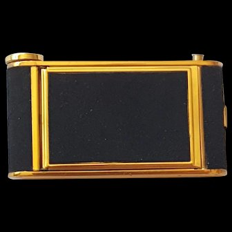 Swanky Camera Shaped Combo Compact Lipstick Cigarette & Money Clip Vintage