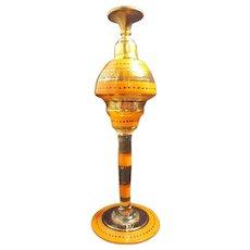 Jazzy 1920's Art Deco Perfume Bottle