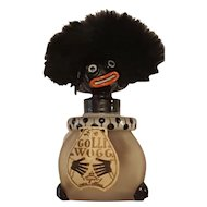 1920 French Golliwogg Vingy Perfume Bottle