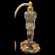 Rare Original by Robert Vintage Jeweled Perfume Atomizer Bottle