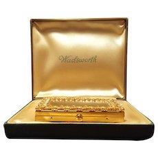 Rare Parker Pen Wadsworth Novelty Vanity Compact w/ Presentation Box