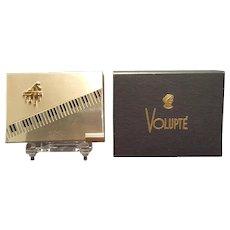 Vintage Volupte Musical Piano Compact Music Box & Org. Box