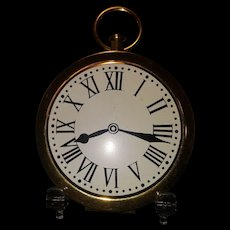 Wadsworth Pocket Watch Compact Novelty Figural Shape Clock Never Used