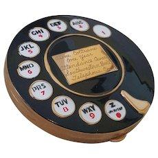 Ultra Rare Southwestern Bell Telephone Co. Employee Award Rotory Compact
