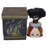 Rare Vintage 1920's French Golliwogg Perfume FULL Bottle Vingy w/ Org. Box