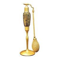 """RARE 9"""" Volupte Egyptian Revival Perfume Atomizer Bottle 1920's * Devilbiss like"""