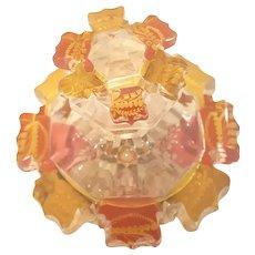 Antique 1830's Edgerman Cut Glass Perfume Bottle