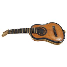 Ultra Rare! Samaral Spanish Guitar Novelty Compact