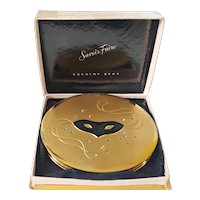 Vintage 1940's Dorothy Gray Savoir Faire Masquerade Compact in its org. Box Novelty Book Item