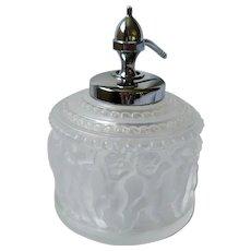 """R. Lalique """"Les Enfants"""" Perfume Bottle Atomizer"""