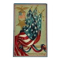 Memorial Day Tribute Postcard