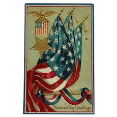 Memorial Day Tribute Postcard
