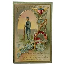 Memorial Day Tribute To Fallen Soldiers Postcard