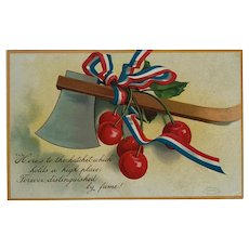 President Washington's Birthday Remembered Postcard