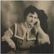 Cabinet Card- A Lovely And Thoughtful Woman