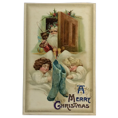 Embossed Christmas Eve Dreamtime