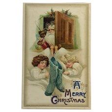 Embossed Christmas Eve Dreamtime