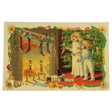Christmas Morning And Stuffed Stockings