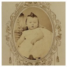 CDV- CWE Baby In Hidden Mother's Arms