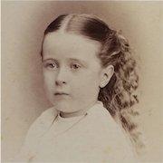 CDV- Sweet Victorian Era Girl