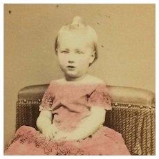 CDV- CWE Toddler- Tinted Dress