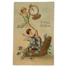 New Year's Fairies Keep Time