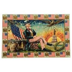 Uncle Sam Celebrates The Fourth