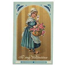 Valentine Dutch Girl