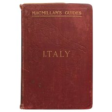 Italy-Macmillan's Guide 1902