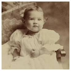 Cabinet Card- Sweet Baby Girl