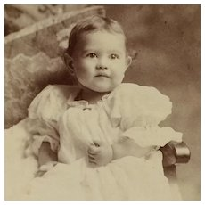 Cabinet Card- Sweet Baby Girl