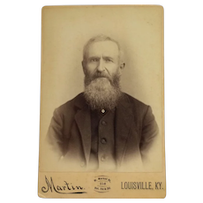 Cabinet Card- Kentucky Gentleman