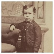 Carte De Visite- Darling Boy In Waco, Texas