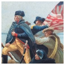 Washington Crossing Delaware Postcard