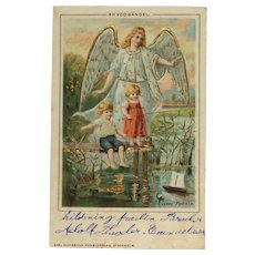 Children With Guardian Angel- Jenny Nystrom