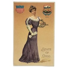 Ohio State Beauty Postcard