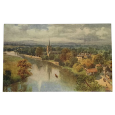 Stratford-On-Avon- Tuck's Oilette Postcard
