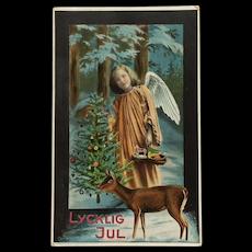 Swedish Angel With Deer