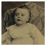 Tintype- Sweet Baby Face