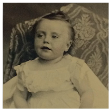 Tintype- Sweet Baby Face