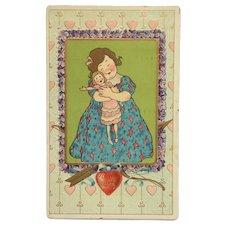 Valentine's Day Dolly Love Postcard
