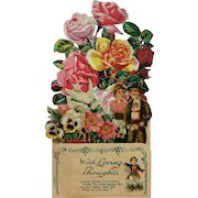 Floral Valentine- Die Cut Pop Up