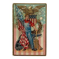 Patriotic Labor Day Workers Celebration