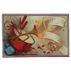 Yankee Doodle Forth Of July Postcard
