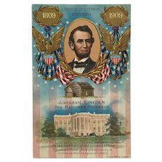 President Lincoln Remembered Postcard